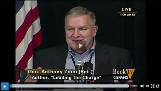 General Anthony Zinni Video